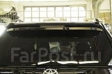 Хром молдинг под спойлер Toyota Land Cruiser Prado 150