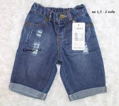 Шорты джинсовые. Рост: 80-86, 86-92, 92-98, 122-128 см