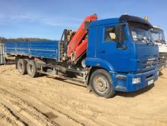 Камаз 65117. Продается Камаз грузовой бортовой с манипулятором, 6 700 куб. см., 11 100 кг.