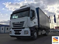 Iveco Stralis. Грузовой шторный (тент) грузовик 420 б. у. 6х2, 10 308 куб. см., 16 720 кг.