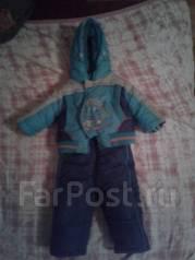 Продам детский зимний комбенизон и костюм зимний. За оба 2500. Рост: 60-68 см