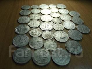 Монеты серебро ранние советы погодовка опт 35 штук