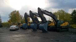 Volvo. Экскаватор масса 49,5 тонн объём ковша 2,8 м3, 13 000 куб. см., 2,80куб. м.