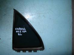 Форточка двери. Toyota Corolla, NZE124 Двигатель 1NZFE