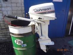 Johnson. 8,00л.с., 2х тактный, бензин, нога S (381 мм)
