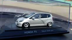 Модель авто заниженная JDM из Японии Honda FIT GD литье Lowen Hart