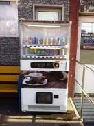 Автоматы по продаже напитков.