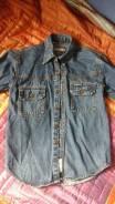 Рубашки джинсовые. Рост: 134-140, 140-146 см