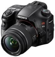 Sony Alpha SLT-A65 Kit. 20 и более Мп, зум: 4х