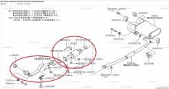 Глушитель. Nissan X-Trail, PNT30 Двигатель SR20VET