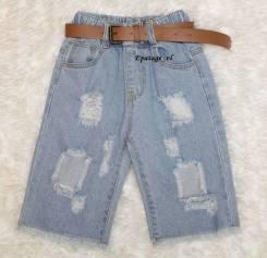 Шорты джинсовые. Рост: 86-98, 98-104, 104-110, 110-116 см
