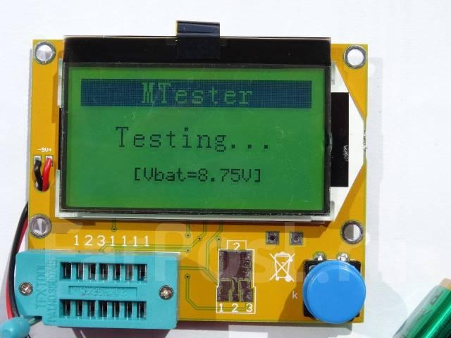 Тестер. ESR метр. Диод, транзистор метр.