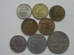 Латинская Америка подборка из 8 монет. Без повторов! Торги с 1 рубля!