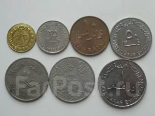 Арабские монеты разных стран. 10 монет. Торги с 1 рубля!