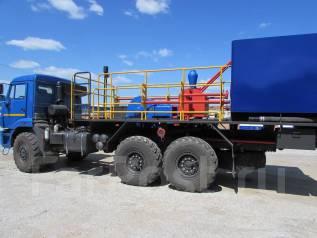 Камаз 43118 Сайгак. Цементировочный агрегат ЦА-320 без ВПБ на шасси Камаз 43118 (насос 9Т), 11 000 куб. см., 15 000 кг.