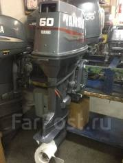 Yamaha. 60,00л.с., 2-тактный, бензиновый, нога L (508 мм), Год: 2000 год