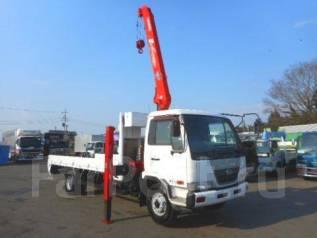 Nissan Condor. эвакуатор с ПУ, 6 920 куб. см., 4 500 кг. Под заказ