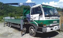 Nissan. Продается грузовик с краном манипулятор Ниссан 15тн, 17 000 куб. см., 15 000 кг., 10 м.