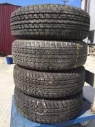 Bridgestone Dueler H/T. Всесезонные, 2010 год, износ: 5%, 4 шт