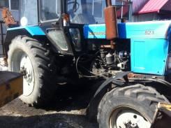 МТЗ 82.1. Трактор МТЗ - 82.1, ХТС, с грунторезом и передним отвалом