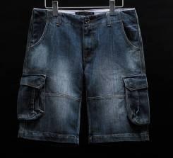 Шорты джинсовые. 52, 54