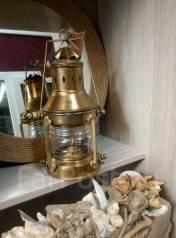 Керосиновая лампа! Морская! Бронза. Оригинал