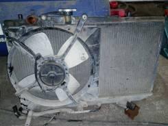 Радиатор охлаждения двигателя. Mazda Autozam Revue, DB5PA, DB3PA Mazda Revue, DB5PA, DB3PA Двигатели: B3MI, B5MI, B5