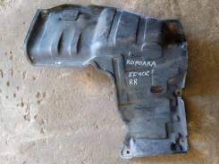 Защита двигателя пластиковая. Toyota Corolla, EE106V, EE106 Двигатель 2E