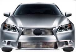 Решетки радиатора и бампера Lexus GS 2012 - 2015. Lexus: GS450h, GS F, GS250, GS300h, GS350