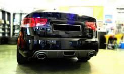 Диффузор под два выхлопа для Kia Cerato Forte Sedan 2009+. Отправка !. Kia Forte Kia Cerato. Под заказ