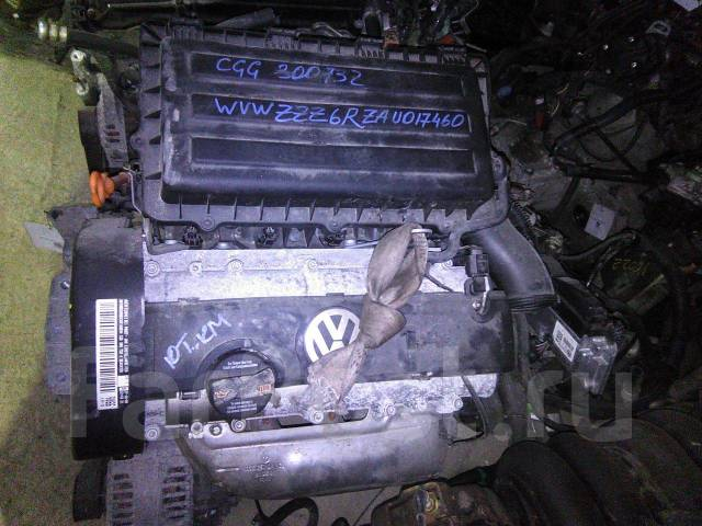 Двигатель VOLKSWAGEN POLO, 6R, CGG; Y0088, 10000km