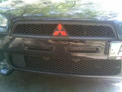 Воздуховоды переднего бампера раздельные на Mitsubishi Lancer 10 X 200. Mitsubishi Lancer, CY, CY1A, CY3A Двигатели: 4B11, 4A91, 4A92, 4B10