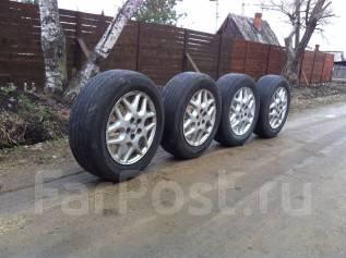 Отличный комплект колес (литье+резина) на 15. Отправлю в регионы РФ. 6.0x15 5x100.00