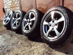 Комплект шипованых зимних колес на литье 175/65 R14 (4*100). 5.5x14 4x100.00 ET40 ЦО 70,0мм.