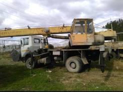 МАЗ Ивановец. Автокран Ивановец на шасси МАЗ, 1996г, 14 тонн, 100 куб. см., 14 000 кг., 14 м.