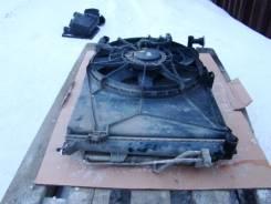 Радиатор охлаждения двигателя. Kia Carens