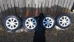 Dunlop SP Winter ICE 01. Зимние, шипованные, 2015 год, износ: 20%, 4 шт