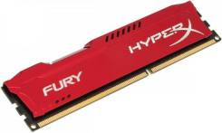 Оперативная память Kingston HyperX FURY Red [HX318C10FR/8] 8GB