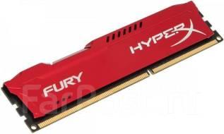 Оперативная память Kingston HyperX FURY Red [HX318C10FR/8] 8GB