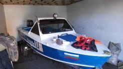 Прогресс-2М. длина 4,80м., двигатель подвесной, 50,00л.с., бензин