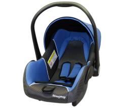 Автокресло детское (0-13кг / 0-1,5г) Серо-голубое. Под заказ