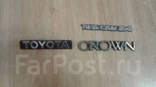 Шильд на крышку багажника Toyota Crown кузов GS131