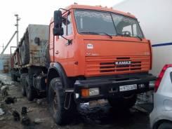 Камаз. с полуприцепом 2007 г., 10 850 куб. см., 12 000 кг.