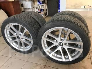 Комплект разношироких диповых колёс Japan R18 + лето жир 90% 8jj 9jj. 9.0/8.0x18 5x114.30 ET45/45