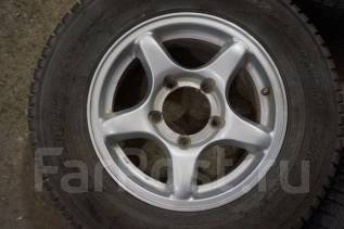 195/80R15 Зимние шины с литыми дисками Suzuki. Без пробега по РФ. 5.5x15 5x139.70 ET20 ЦО 110,0мм.