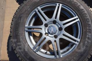 205/70R15 Зимние шины с литыми дисками Bridgestone. Без пробега по РФ. 6.5x15 5x114.30 ET49 ЦО 73,0мм.