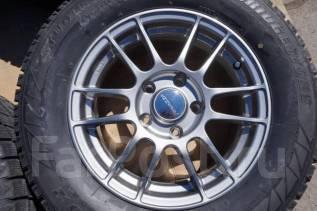 215/65R15 Зимние шины с литыми дисками Enkei. Без пробега по РФ. 6.5x15 5x114.30 ET50 ЦО 73,0мм.