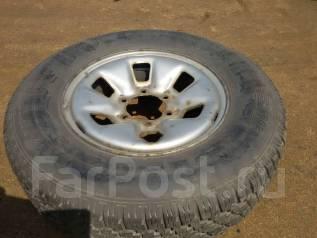 Одно колесо 215 / 80R16 Bridgestone Desert Dueler 682 . Отправлю в рег. 6.0x16 6x139.70 ET40 ЦО 110,0мм.