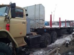 Урал. Продается тягач УРАЛ с полуприцепом, 12 000 куб. см., 12 000 кг.