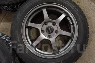 205/60R16 Зимние шины с дисками Progress. Без пробега по РФ. 7.0x16 5x114.30 ET55 ЦО 73,0мм.